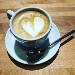 From Florence with Love - Cappuccino in Florence, Italy (laskawaiiphotography) Tags: coffee caff cappuccino foodie italy florence italia firenze food heart love delicious lifestyle tabletop morning routine good