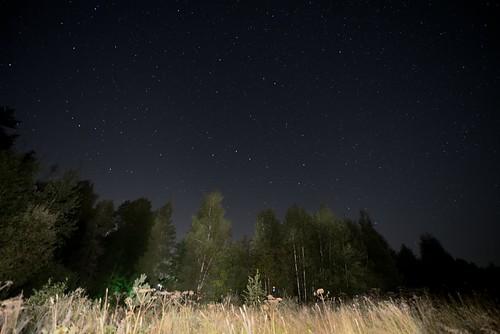 Night Sky Ночное небо Подмосковья
