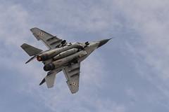 RIAT2016 - Mikoyan MiG-29A - Polish Air Force (Cjlws) Tags: riat2016 riat royalinternationalairtattoo airshow militaryaviation fairford mikoyan mig29a polishairforce