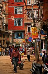 Jhochhen Tole 9 (David OMalley) Tags: kathmandu nepal nepalese nepali newar