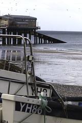 Norfolk Trip (Kevin John Hughes) Tags: cromer beach kevhughes sea groins church pier amusements pug crab fishing norfolk england colour churchtower