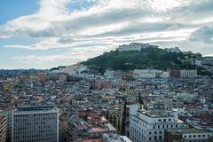 Naples - Rooftop View to Castel Sant'Elmo (Le Monde1) Tags: italy naples napoli lemonde1 nikon d610 amalficoast city greek roman angevin vomero hill prison charlesv rooftop castelsantelmo