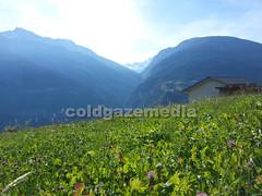 20150927_113211 (coldgazemedia) Tags: photobank stockphoto scenery schweiz switzerland swissvillage swissalps landscape brig birgish mund alps mountain swisshuts alpine alpinehut bluesky blue meadow