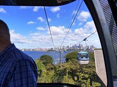 Views from our 'bubble' (Snuva) Tags: australia nsw sydney skysafari cablecar ropeway tarongazoo