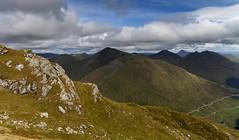 Arrochar Alps from Beinn an Lochain (David Dear) Tags: scotland arrochar cobbler benlomond