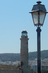 Rethymnon (Crete) - lighthouse (alkanast) Tags: greece crete rethymno lighthouse     lamp