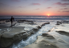 The shot beckons (San Diego Shooter) Tags: lajolla sandiego sunset sandiegosunset lajollatidepools photographer landscape seascape lajollasunset cool uncool uncool2 cool2 uncool3 uncool4 uncool5 cool4 cool5 uncool6 uncool7 iceboxuncool
