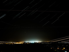 Moscow Airport (AndreyShcherbatov) Tags: domodedovo international airport olympus omd russia stars night aircraft