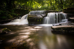 Torpantau Falls (thegfb) Tags: brecon ndfilter stream waterfall neutraldensity