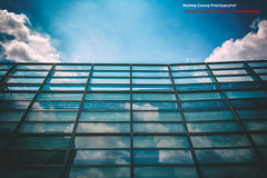 Blue Sky. National Taiwan Museum of Fine Arts.  ( (Morris)) Tags:     nationaltaiwanmuseumoffinearts taiwan taichung  staircase      blue sky