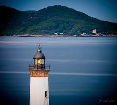 El faro y la torre (Joseeivissa) Tags: botafoc d90 eivissa electrolluc fare faro grossa ibiza illa joseeivissa joseeivissafotosgmailcom lighthouse nikon oscaribiza truisalida