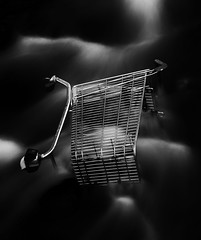 Modern Life is Rubbish - Literary (PeskyMesky) Tags: shoppingcart aberdeen le longexposure minimal canon canoneos500d