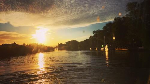 Dagens vattenbild: Ekerö kanal. #pendelbåt