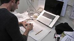 Ken Barber's workshop at t]m (doreuli) Tags: tm lettering typedesign