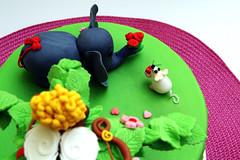 San Valentino - DSC_4167 (SaleCaramello) Tags: elephant flower love cake hearts mouse heart valentine cuori cuore amore torta elefante topolino sanvalentino cupido 14febbraio 14thfebruary pastadizucchero