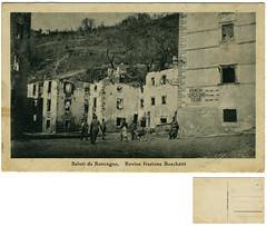 Roncegno Terme, rovine frazione Boschetti (Ecomuseo Valsugana | Croxarie) Tags: guerra cartolina soldati primaguerramondiale boschetti roncegno sittoni roncegnoterme croxarie giuseppesittoni