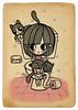 Una mañana cualquiera en casa de Mejía... (Anita Mejia) Tags: life cute love illustration pen ink cat day journal kitty doodle gato kawaii sanvalentin 14defebrero chocolatita anitamejia