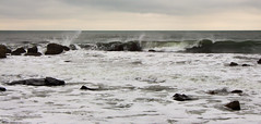 Winter waves crash at White Point (Scott-Simpson) Tags: winter beach novascotia getaway couples resort whitepoint babymoon