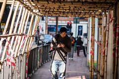 Bamboo tunnel... (anthonyleungkc) Tags: street ed hongkong candid olympus snap f18 omd texting lightroom 75mm m43 mft mzd em5 microfourthirds mzuikodigital