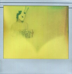 Fog in the Wonderland (@n) Tags: girl nude polaroid mask tales alice carroll masked wonderland polaroid600 lewiscarroll whiterabbit artisticnude aliceinthewonderland px600