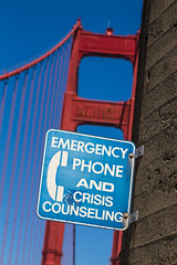 Talk To Us (justingreen19) Tags: sanfrancisco california urban help goldengatebridge depression sanfran depressed westcoast crisis suicidal counseling emergencyphone crisiscounseling bridgejump needhelp bridgejumper suicidebarrier suicidehotline feelingsuicidal goldengatebridgesuicide bridgesuicide justingreen19 highwayandtransportationdistrict justingreenphotography crisiscounselingsign emergencyphonesign suicideboxes suicidedeterrent suicideproof