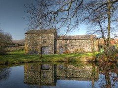 Torver barn reflections (GillWilson) Tags:
