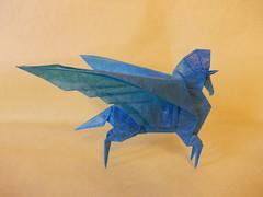 Pegasus, by Fumiaki Kawahata (~ Sareth ~) Tags: origami pegasus kawahata fumiaki
