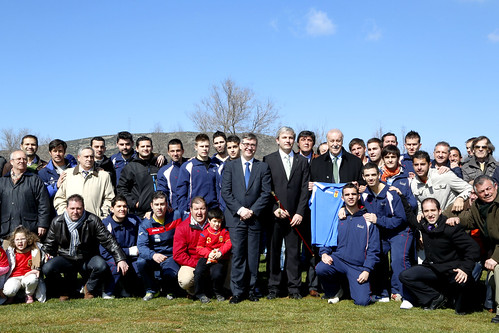 Marín inaugura Campo Futbol Villamayor