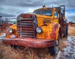International truck (Pattys-photos) Tags: truck montana international hdr nikkor18200mm oilmont nikond7000