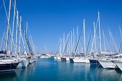 Yacht depo (Richard's Photo Targets) Tags: sea water port marina canon eos boat yacht croatia more 5d mast voda adriatic adriaticsea hrvatska jadran lod chorvatsko pristav jachta sukoan jadranskemore stazen