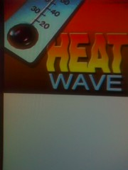 Summer Heat Wave - Sunshine and Desert/Mountain Thunderstorms (KDOC-TV Channel 56 Los Angeles) Tags: summer hot wave heat temperatures