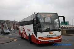 Bus Eireann LC5 (08D70607). (James O Keeffe) Tags: bus cork february daf axial eireann vdl lc5 2013 berkhof sb4000 08d70607