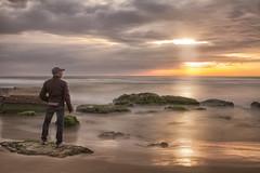 Unreal (Luca Romano) Tags: world longexposure sunset relax tramonto mare unreal spiaggia romantico anotherworld scogliera surreale lungaesposizione seasunset tramontomare shiningsunset sunlandscape