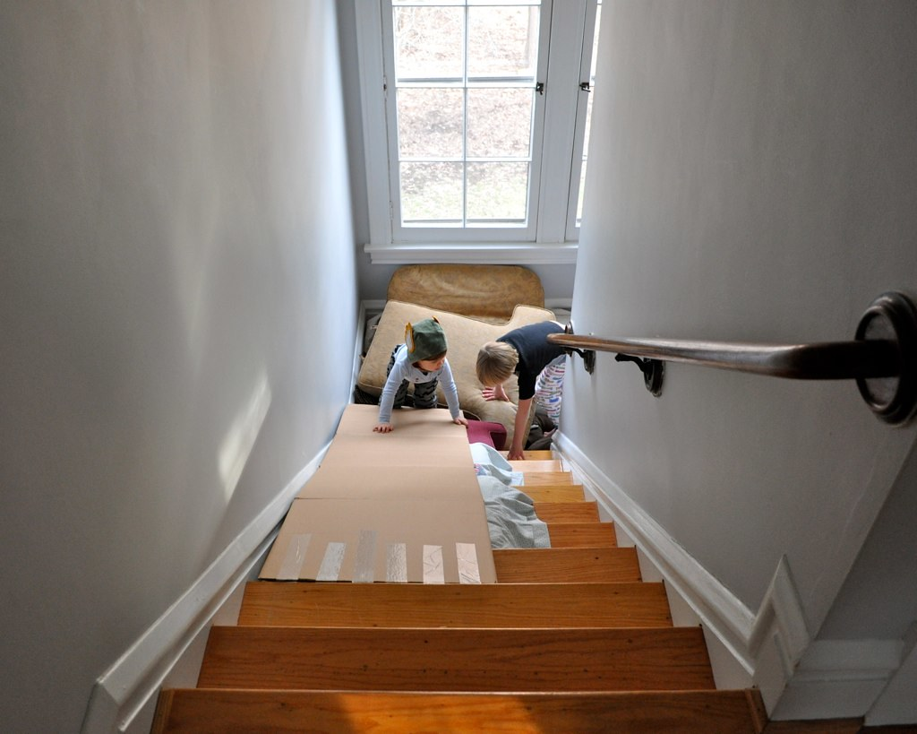 Both Andrew And I Had Fun Recounting Memories Of Similar Activities When We  Were Little. And If You Have Carpeted Stairs, ...