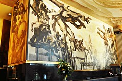 Rockefeller Center (pam's pics-) Tags: nyc newyorkcity ny newyork building painting mural rockefellercenter artdeco deco pammorris nikond5000 july2012roadtrip