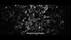 About loving darkness. (Lill-Veronica Skoglund) Tags: music cinema film movie lyrics screenshot still text filmstill cinematic subtitles