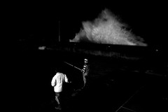 fishing on the dock (Rui Soares | photography) Tags: ocean fish night fishing photojournalism bigsea