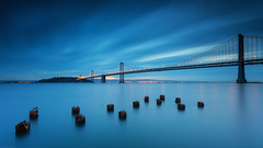 The Bay Bridge | San Francisco, CA (Taha Elraaid) Tags: sanfrancisco ca usa sunrise canon san francisco long exposure baybridge 5d canon5d taha mark3 elraaid tahaelraaid