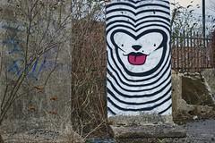 Mila K (tombomb20) Tags: street urban woman streetart art abandoned k lady concrete graffiti mural paint factory tag sheffield mila spray drug horror graff derelict hdr hypnotic ue hypno thriller urbex karne milak 2013 tombomb20 hypnok