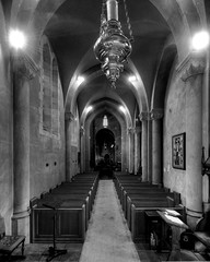 St. Paul Cathedral (Doug Santo) Tags: architecture buildings cathedral sandiego churches episcopal stpaulcathedral architecturalphotography blackwhitephotos