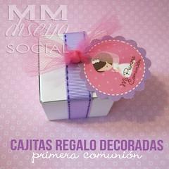 Cajitas decoradas (MM Detalles) Tags: nia primera regalos regalitos comunin rezando cajitas decoradas