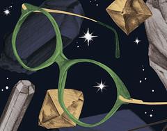 Herr Menig Optik in Space (Philipp Zurmoehle) Tags: illustration diamonds glasses design crystals crystal drawing space postcard nuremberg ad illustrations drawings diamond philipp gems gem nürnberg optician optik menig zurmöhle philippzurmöhle philippzurmoehle herrmenig