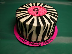 Zebra Stripes Cake (GRAMPASSTORE) Tags: birthday wedding girls baby cakes boys cookies animals cake kids shower cupcakes cookie anniversary unique bugs grandpa il baptism cupcake zebra custom babyshower favors grandpas catering lagrange grampas zebrastripes sheetcake 20121215