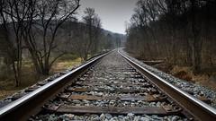Follow the Tracks (The Dying Light) Tags: chapmansmill chapman mill beverlymill abandoned country rural ruralvirginia virginia jdavidphotography jdavidphotos jdavid jdavidphotographyarlingtonva train railroad traintracks weatherchannel travel weatherchanneltravel cnntravel