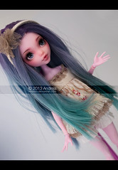 Ann (***Andreja***) Tags: monster high doll ooak wig dreams ann custom repaint andreja nicolles draculaura