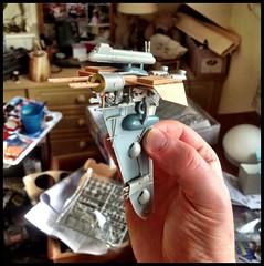 Kit bash (Jim_V) Tags: model ship space plastic kit kitbashing uploaded:by=flickrmobile flickriosapp:filter=nofilter