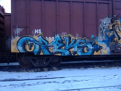 oreks (Metal Fr8 Flicker) Tags: train graffiti oreks