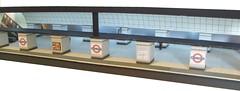 Underground tube station diorama (kingsway john) Tags: card model 176 scale london underground oo station tube diorama kingsway models railway gauge train miniature arnos grove moscow customer