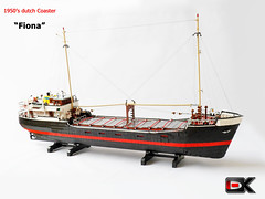 Coaster Fiona (Konajra) Tags: boat ship lego coaster