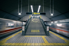 Yodoyabashi Station (Jiratto) Tags: station japan train   osaka   jiratto